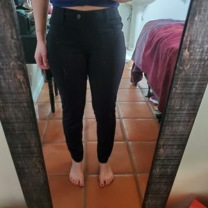 Soft Fabric Black Jeggings